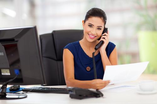 Lavorare come segretaria